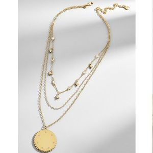 Baublebar Gold ANDROMEDA LAYERED PENDANT NECKLACE